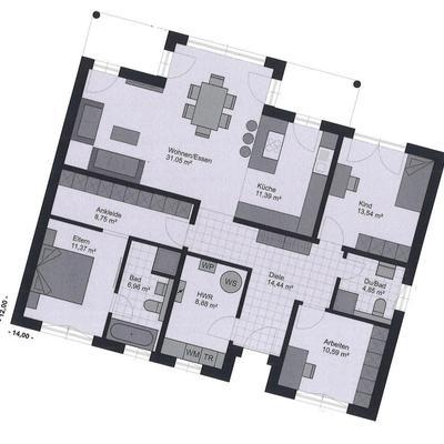 Grundriss Erdgeschoss